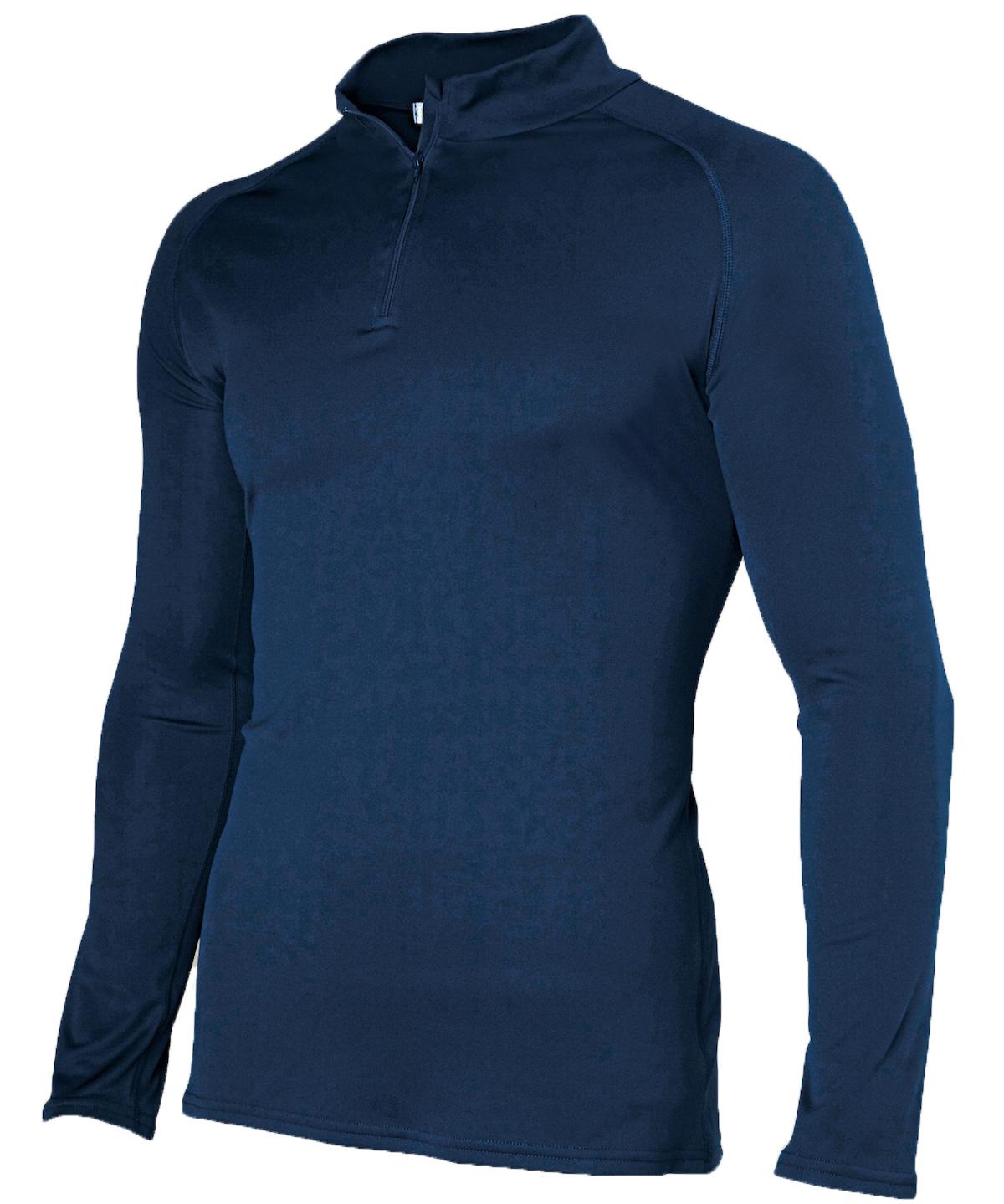 Damart Sport Easy Body 4 col zippé - T-Shirt - Herren