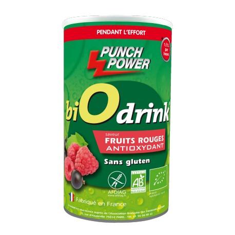 Punch Power BiOdrink Antioxydant Fruits rouges sans gluten - Energiedrink
