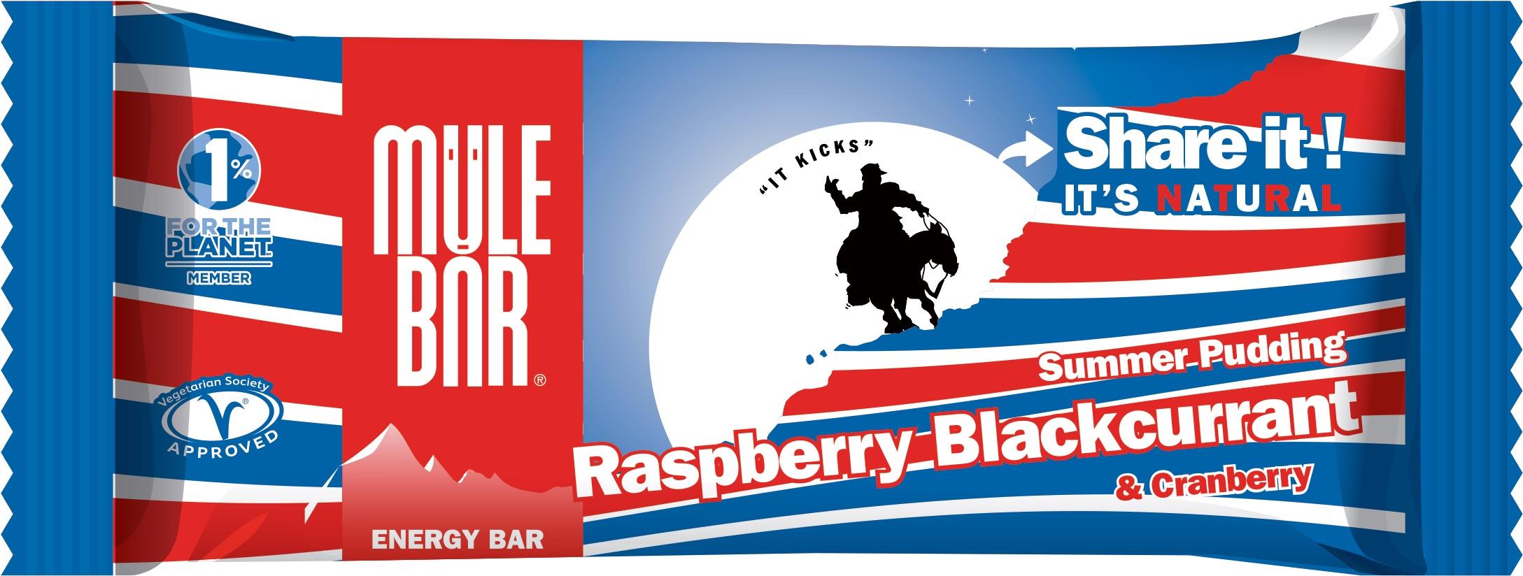 Mulebar Barre énergétique Summer Pudding