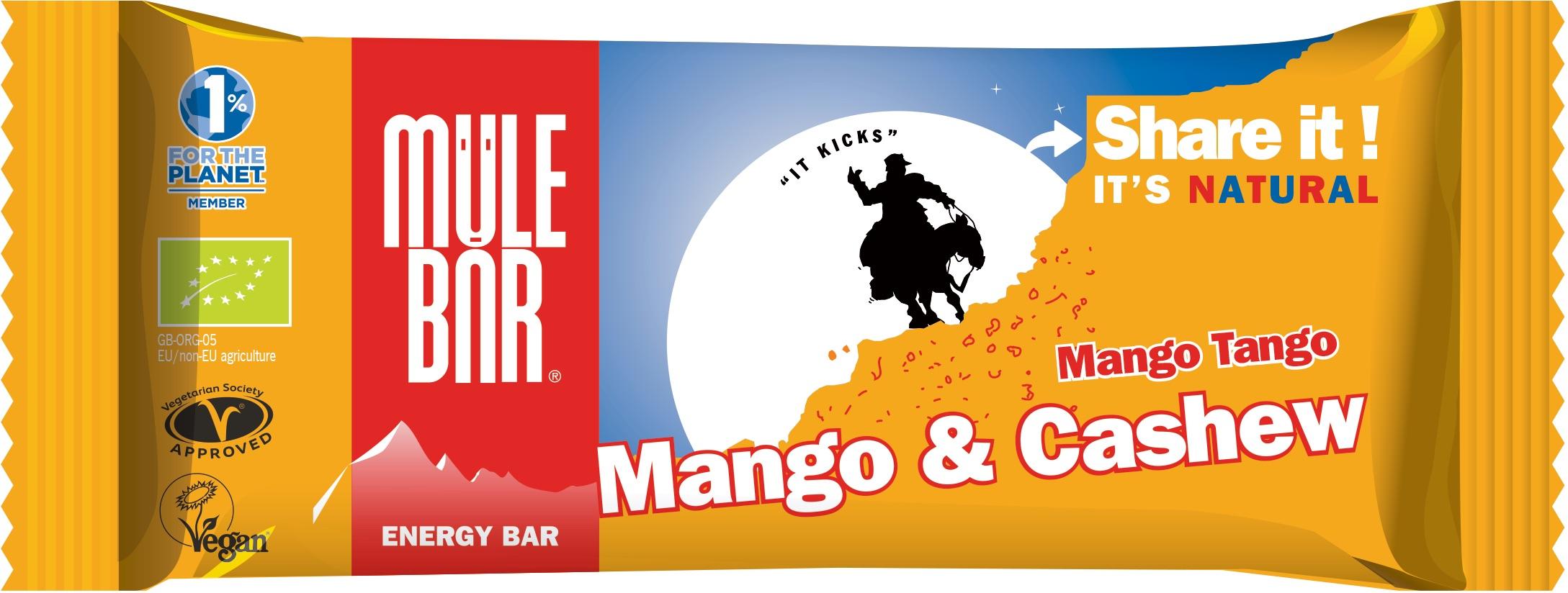 Mulebar Barre énergétique Mango Tango Bio