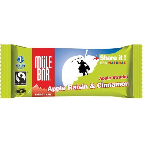 Mulebar Barre énergétique Apple Strudel