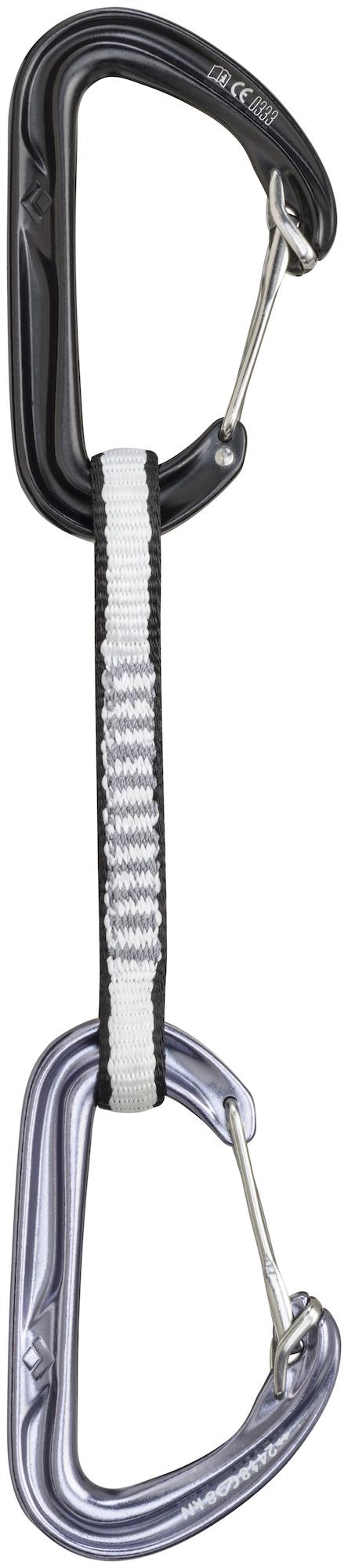 Black Diamond Hoodwire Quickdraw - 12 cm - Express-Set