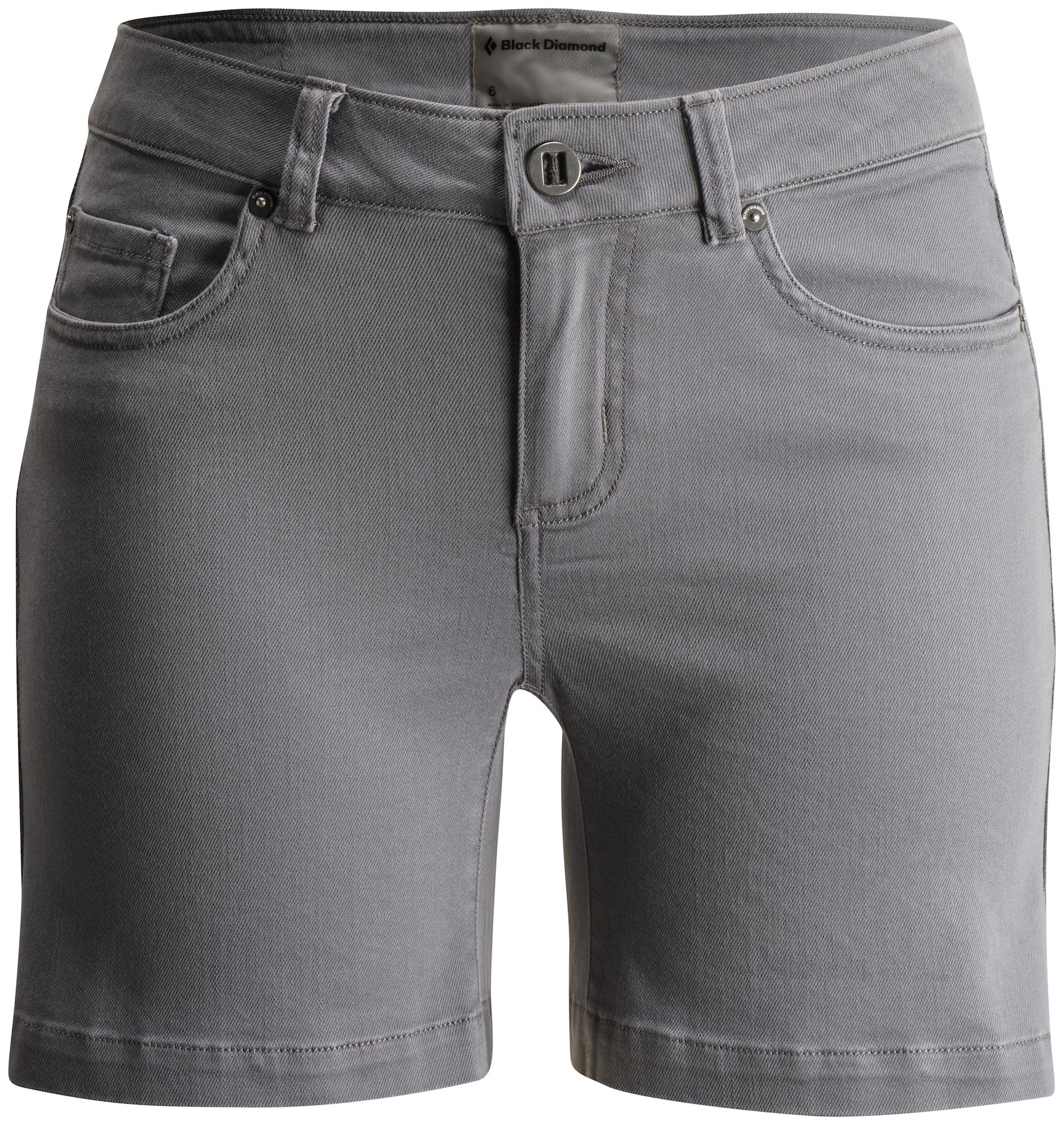 Black Diamond Stretch Font Shorts - Klettershorts - Damen