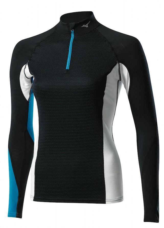 Mizuno Breath Thermo Virtual Body 1/2 zip - Funktionsshirt - Damen