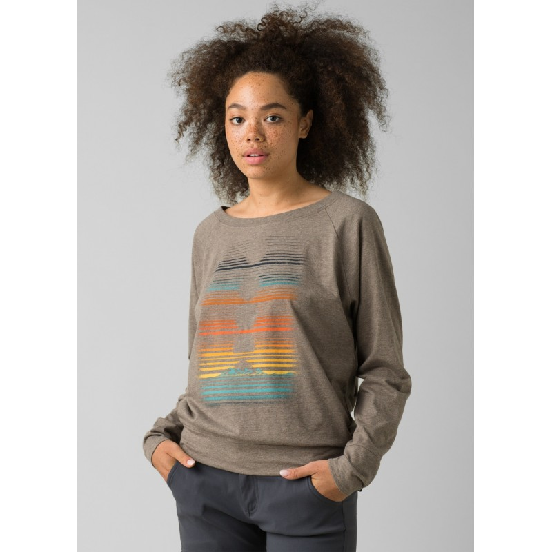 Prana prAna Graphic Long Sleeve Tee - T-Shirt - Damen