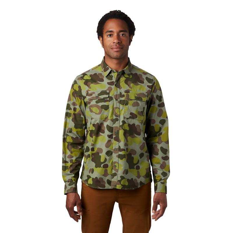 Mountain Hardwear J Tree Long Sleeve Shirt - T-Shirt - Herren