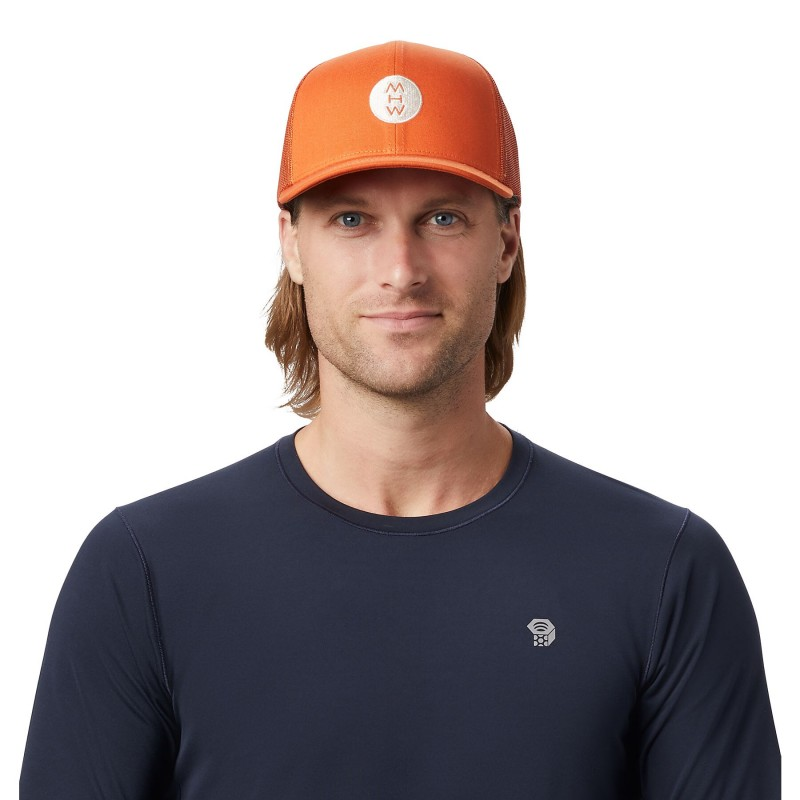 Mountain Hardwear MHW/Marrow Logo Trucker Hat - Cap