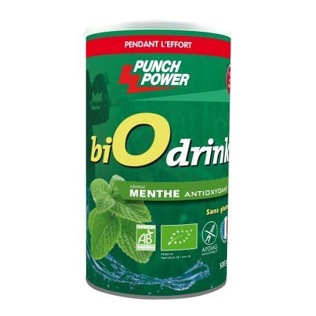 Punch Power BiOdrink Menthe Antioxydant sans gluten - Energiedrink