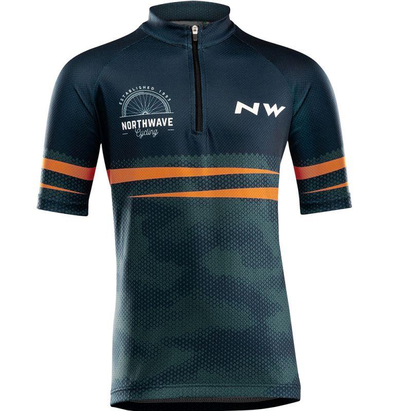 Northwave Origin Junior Jersey Short Sleeves - Radtrikot - Kinder