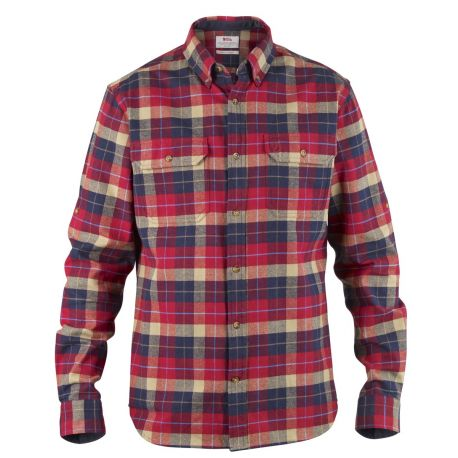 Fjällräven Singi Heavy Flannel Shirt - Outdoor Hemd - Herren
