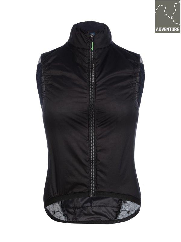 Q36.5 Adventure Women's Insulation Vest Black - Fahrradweste - Damen