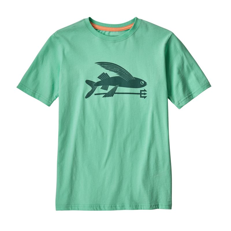 Patagonia Boy's Flying Fish Organic - T-Shirt - Kind