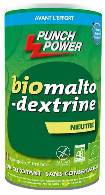 Punch Power Biomaltodextrine goût Neutre sans gluten