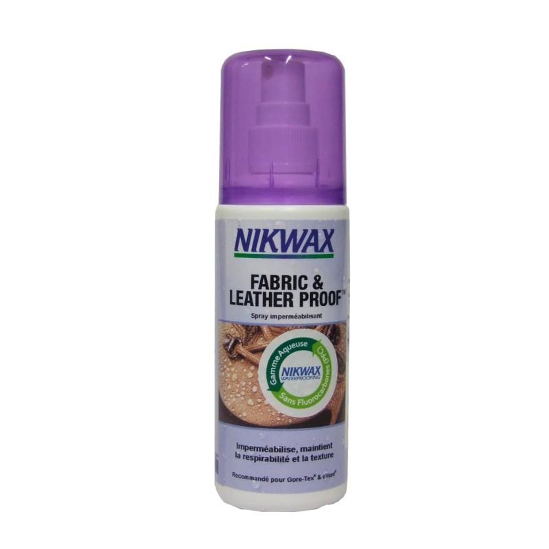 Nikwax Spray imperméabilisant pour chaussures en tissu ou cuir - Imprägnierung
