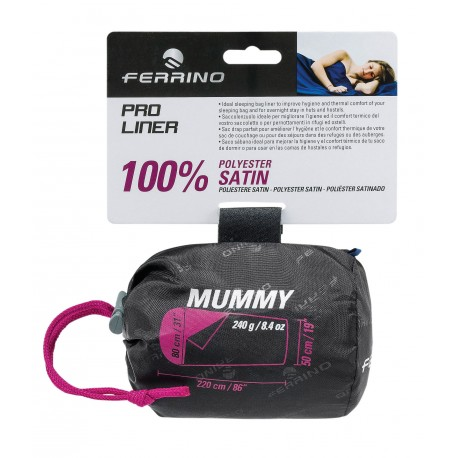Ferrino Pro Liner Mummy - Hüttenschlafsack