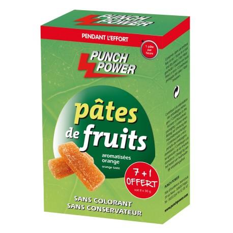 Punch Power Pâtes de fruits orange (8 x 30 g)
