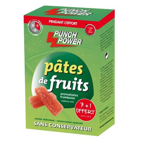 Punch Power Pâtes de fruits framboise (8 x 30 g)