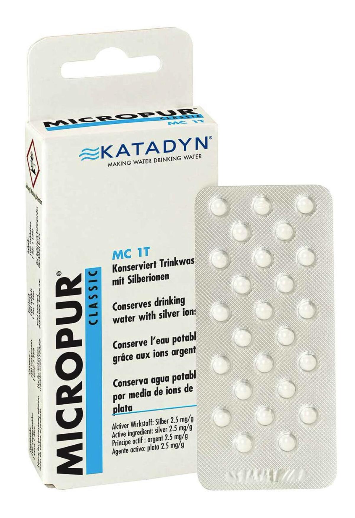 Katadyn - Micropur Classic MC 1T - Wasserdesinfektion